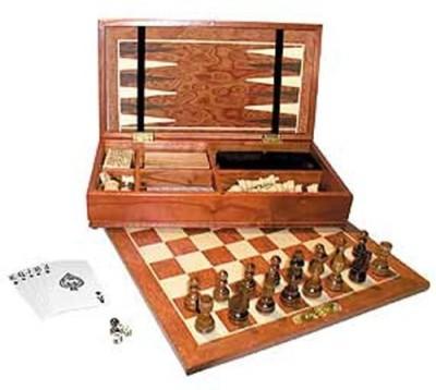John N. Hansen 7 In 1 Compendium Board Game