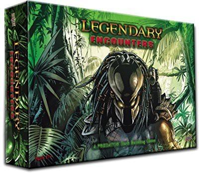 Upper Deck Legendary Encounters A Predator Deck Building Board Game