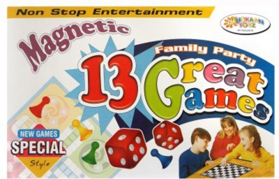 Muskaan Toyz Magnetic 13 Great Board Game