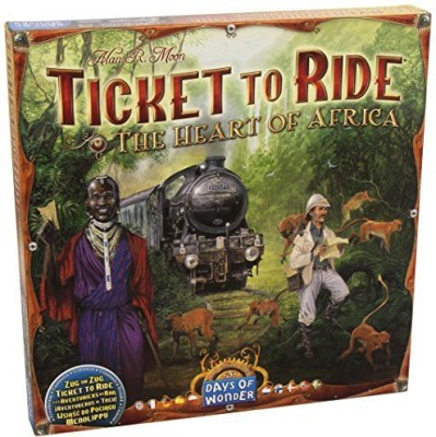 Days of Wonder Ticket To Ride Map Collection The Heart Of Africavolume 3 Board Game