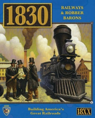 Mayfair Games 1830 Railways And Robber Barons North East Us Board Game