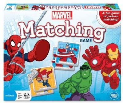 Wonder Forge Marvel Matching Blue Board Game