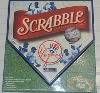 Sababa Toys New York Yankees Scrabble Board Game