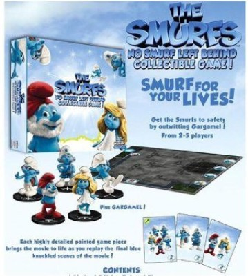WizKids The Smurfs No Smurf Left Behind Board Game