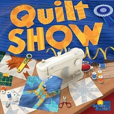 Rio Grande Games Quilt Show Board Game