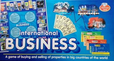 Jaibros International Business Board Game