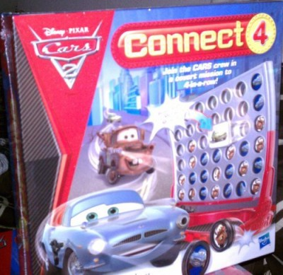 Hasbro Connect 4 Cars 2 Edition Board Game