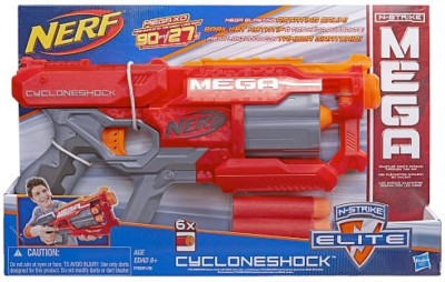 Nerf Nerf N-Strike Elite Mega CycloneShock Blaster Board Game