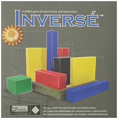 Family Games Inverse Wood Strategy Tabletop Board Game