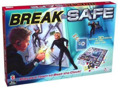 Mattel Break The Safe Board Game
