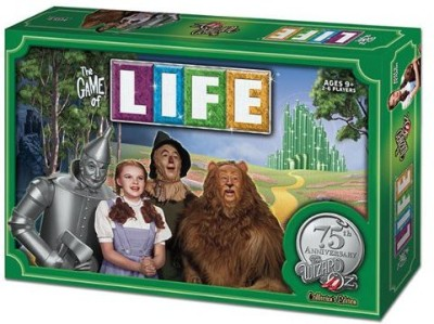 USAopoly The Of Life The Wizard Of Oz 75Th Anniversary Collector,S Board Game