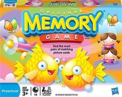 Hasbro The Original Memory No Mbg4664 Board Game