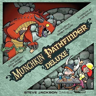 Steve Jackson Games Munchkin Pathfinder Deluxe Board Game