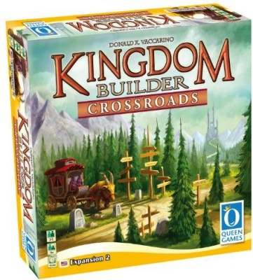 Queen Games Kingdom Builder Crossroads Board Game