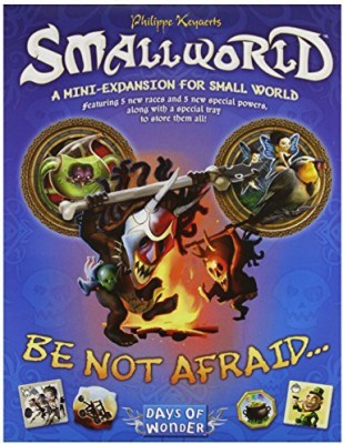 Days of Wonder Small World Be Not Afraid Expansion Board Game