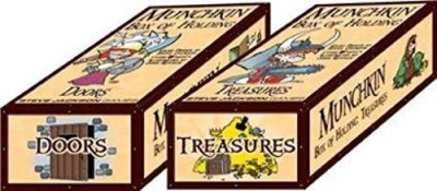 Steve Jackson Games Munchkin Boxes Of Holding Doors And Treasures Board Game