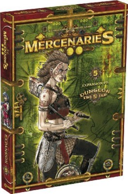 Asmodee Dungeon Twister Mercenaries Board Game