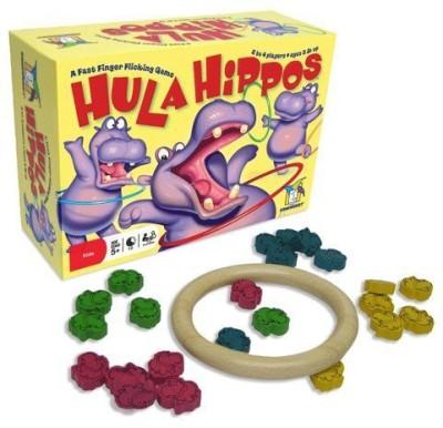Gamewright Hula Hippos (5515) Board Game