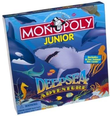 USAopoly Monopoly Junior Deep Sea Adventure Board Game