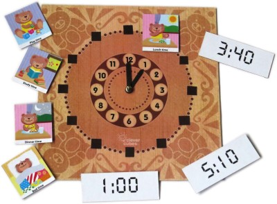 Clever Cubes Talk Time Board Game