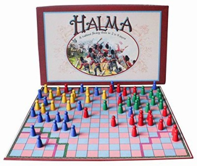 House of Marbles Halma Traditional Strategy Board Game