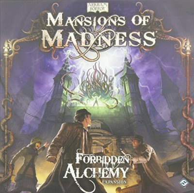 Fantasy Flight Games Mansions Of Madness Forbidden Alchemy Expansion Board Game