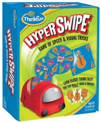 Think Fun Thinkfun Hyper Swipe Board Game