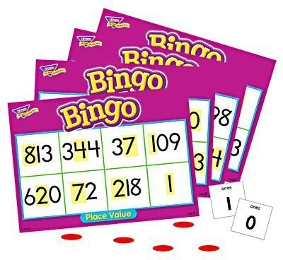 Trend Enterprises Inc Place Value Bingo Board Game