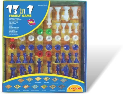 Toyzone 13 in 1 Chess Board Game
