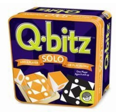 MindWare Qbitz Solo Orange Board Game