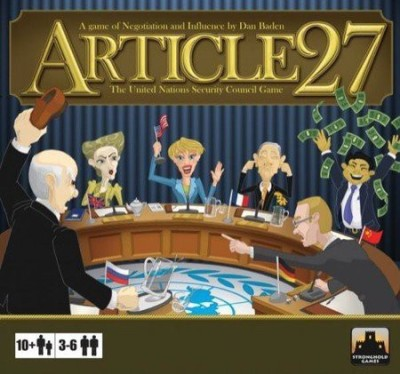 Stronghold Games Article 27 The United Nations Security Council Board Game