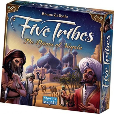 Days of Wonder Five Tribes Board Game