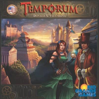 Rio Grande Games Temporum Board Game