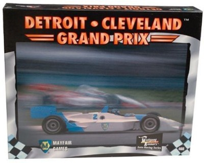 Mayfair Games Grand Prix Board Game
