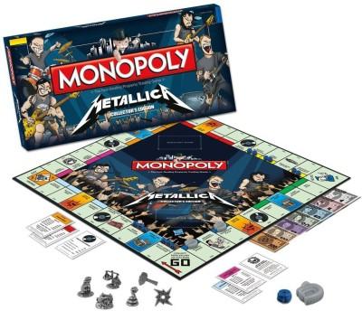 Monopoly Metallica Monopoly Board Game