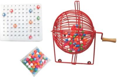 Tambola-Bingo Supermarket Bingo Cage Set Board Game