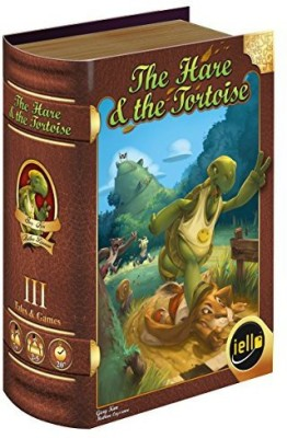 IELLO Tales Andthe Hare And The Tortoise Board Game