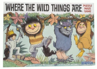 Briarpatch Where The Wild Things Are Board Game