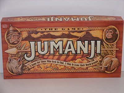 Jumanji The A game for those who seek to find Board Game