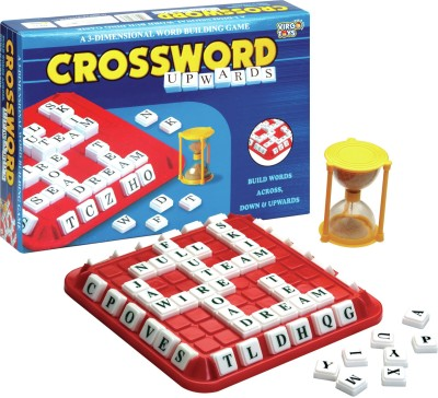 Virgo Toys Crossword Upwards Board Game