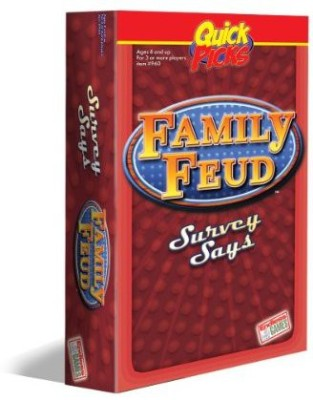 Endless Games Quick Picks Family Feud Board Game
