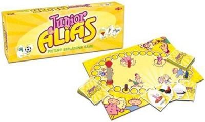 Tactic Games US Junior Alias Board Game