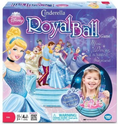 Wonder Forge Disney Cinderella,S Royal Ball Board Game