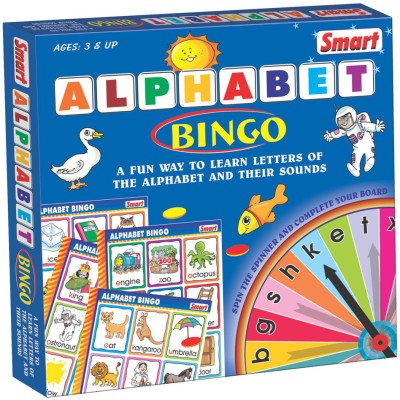 Smart Alphabet Bingo Board Game