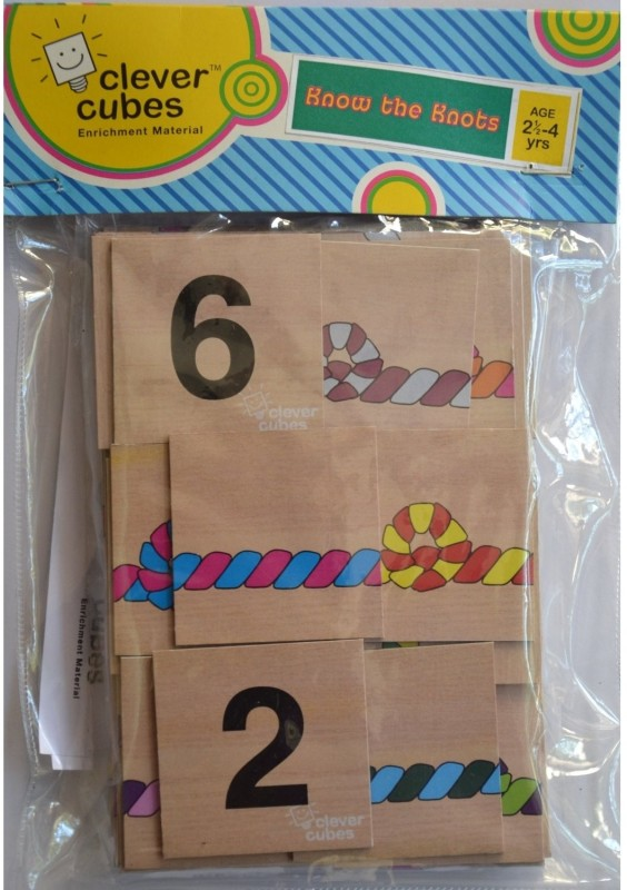 Clever Cubes Know the Knots Board Game