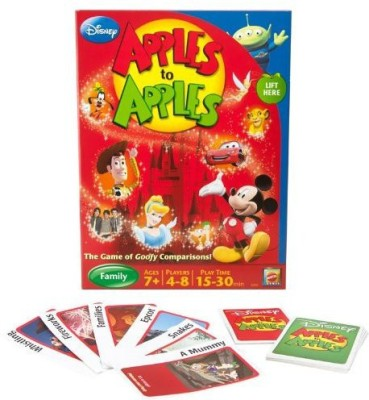 Mattel Disney Apples To Apples The Of Goofy Comparisons Board Game
