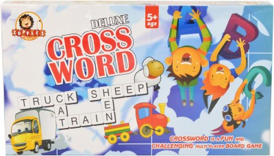 Zupplez Cross Word Board Game