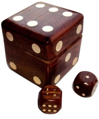 Onlineshoppee Dice Shape Dice Box Board Game