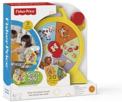 TCG Fisherprice See ,N Say Talking Board Game