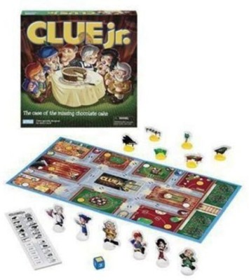 Hasbro Clue Jr The Case Of The Missing Cake Board Game